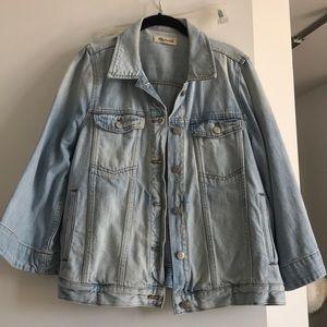 Madewell Bell Sleeve Denim Jacket